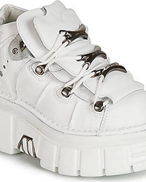 Bílé boty New Rock