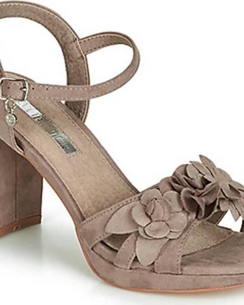 Hnědé sandály xti