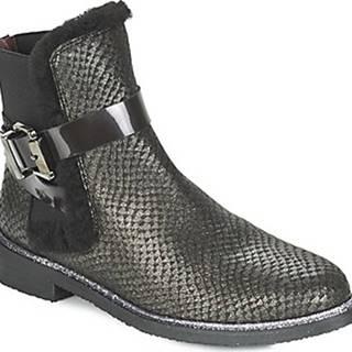 Fericelli Kotníkové boty FADEN Černá