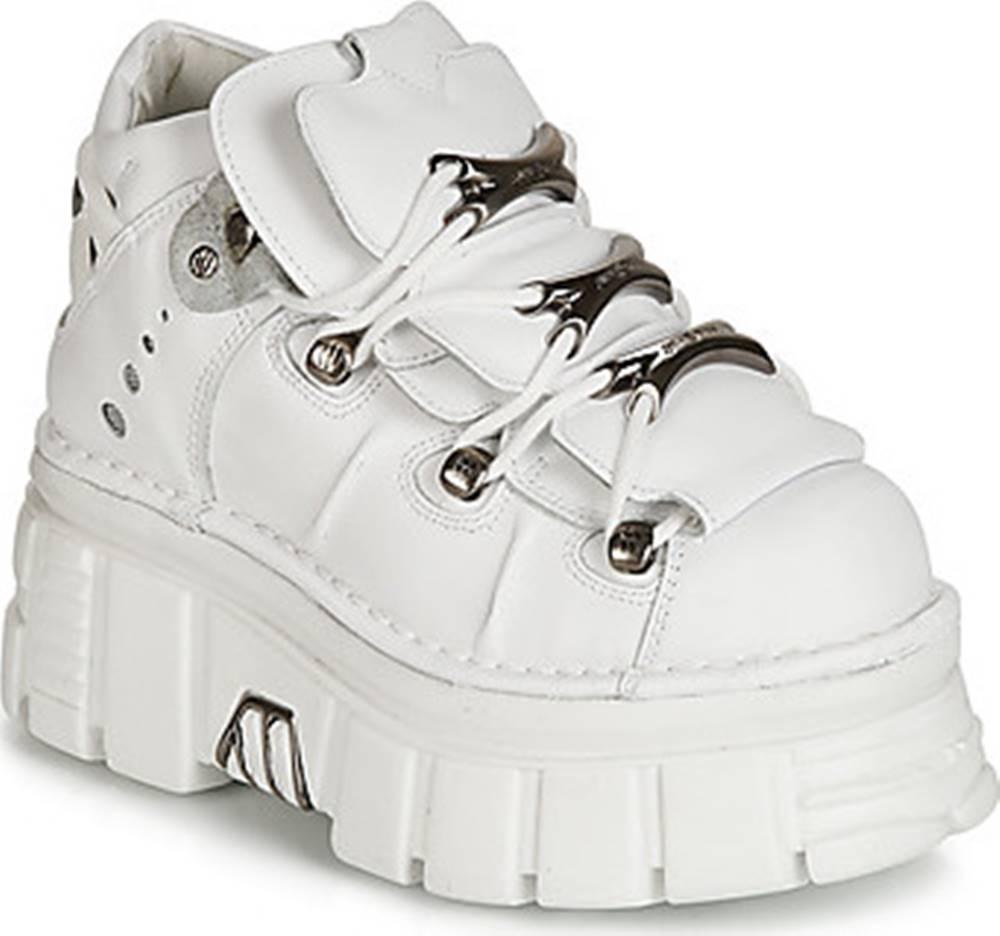 New Rock New Rock Kotníkové boty ROCKY Bílá