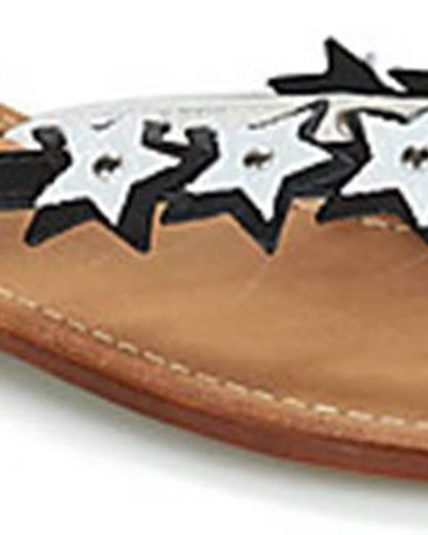 Černé sandály André