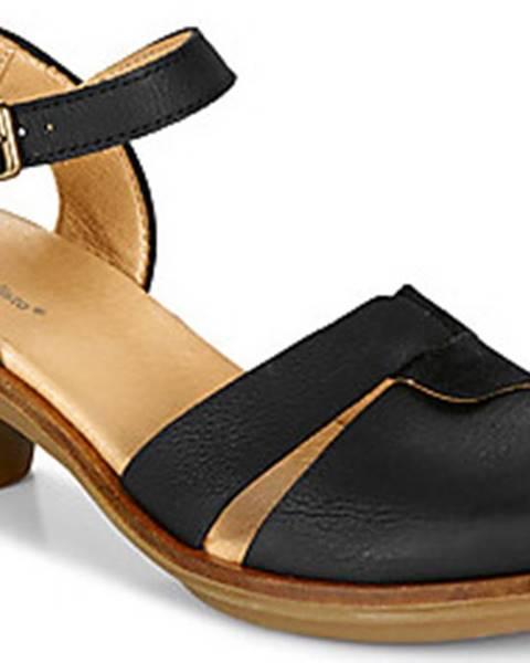 Černé sandály EL NATURALISTA