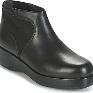 Camper Kotníkové boty DESSA Černá