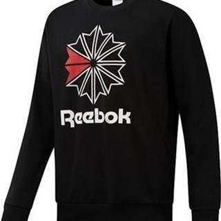 Reebok Sport Mikiny AC FT Big Starcrest Černá