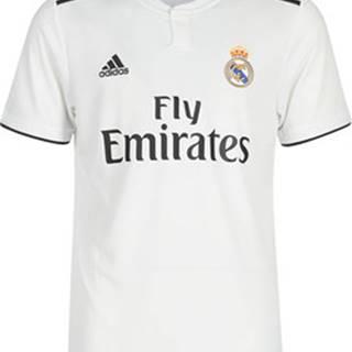 adidas Trička s krátkým rukávem REAL JERSEY Bílá