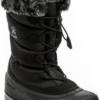 KAMIK Zimní boty Momentum2 Black dámská zimní obuv Černá