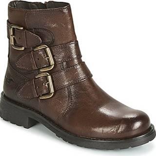 Mustang Kotníkové boty 2873502-362 Hnědá