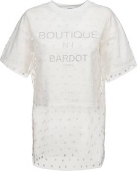 Bílá mikina Brigitte Bardot