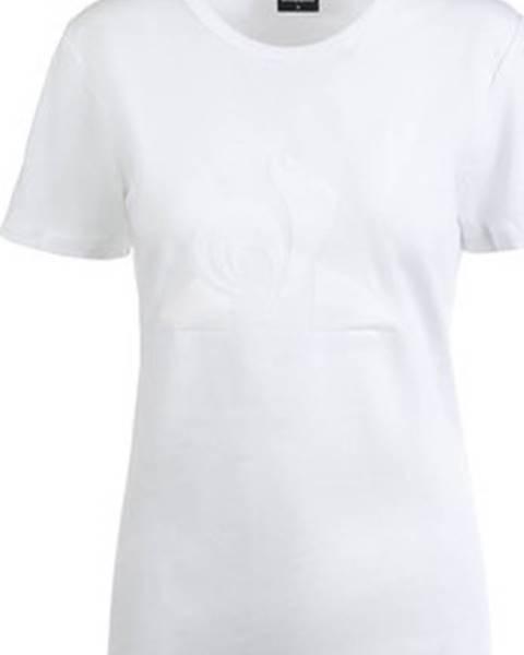 Bílý top Le Coq Sportif
