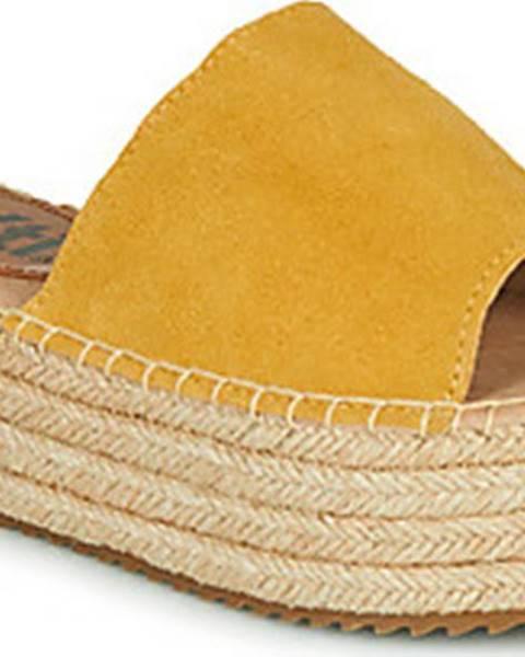 Žluté pantofle xti