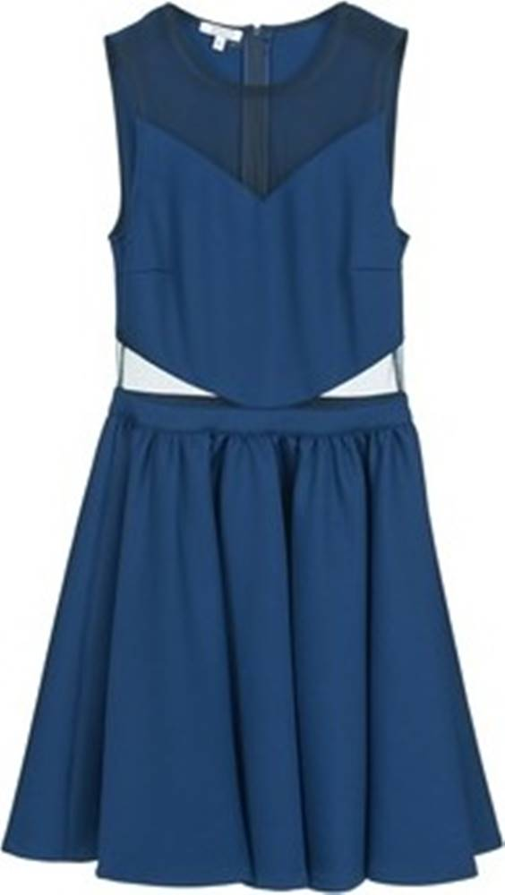 Brigitte Bardot Brigitte Bardot Krátké šaty BB45080 Modrá