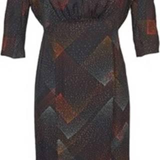 Antik Batik Krátké šaty ORION Černá