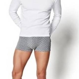 Esotiq Henderson Trička s dlouhými rukávy Pánské tričko 2149 BT-104 white ruznobarevne