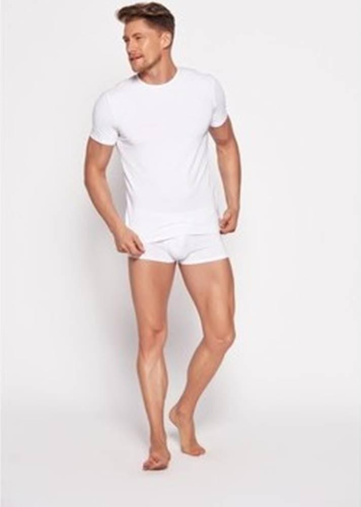Esotiq & Henderson Esotiq Henderson Trička s krátkým rukávem Pánské tričko 18731 Bosco white ruznobarevne