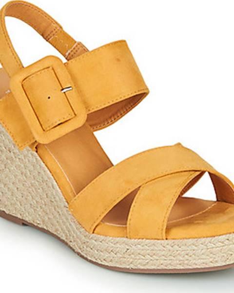 Žluté sandály xti