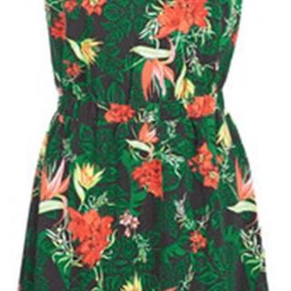 Vila Krátké šaty VILAIA Zelená