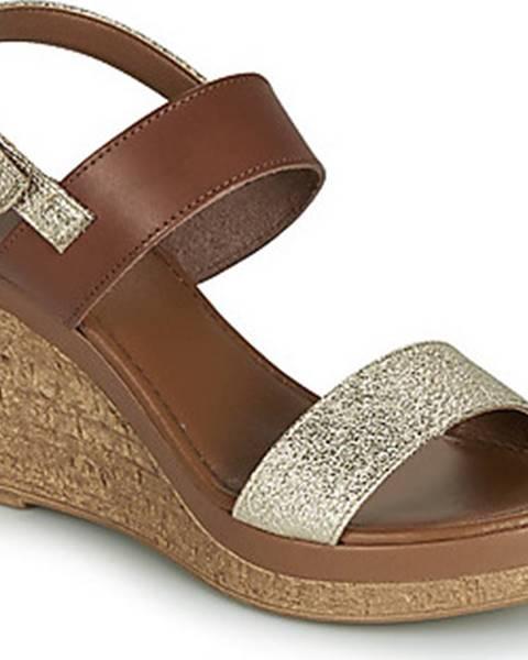 Zlaté sandály André