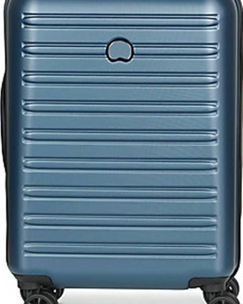 Modrý kufr Delsey