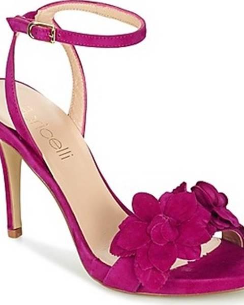 Fialové sandály Fericelli