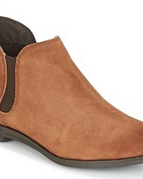 Hnědé boty vero moda
