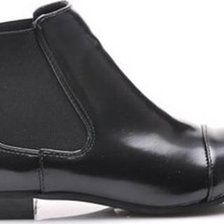 Vices Kotníkové kozačky Perfektní černé kotníčkové boty s elastickými vsadkami ruznobarevne