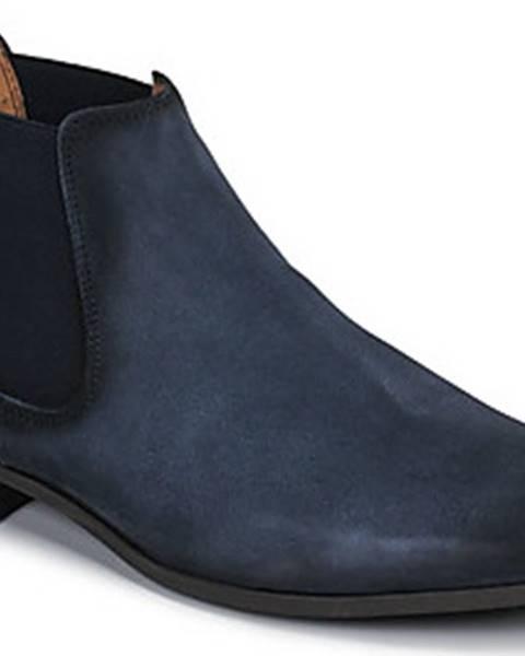 Modré boty Brett Sons
