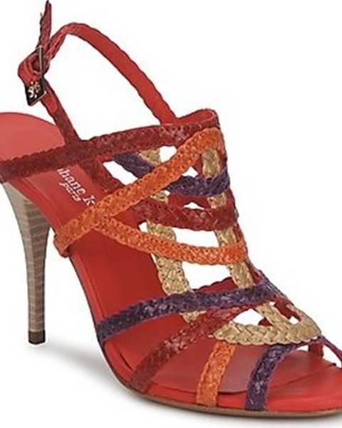 Červené sandály Stéphane Kelian
