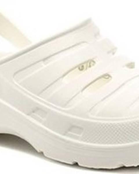 Bílé pantofle COQUI