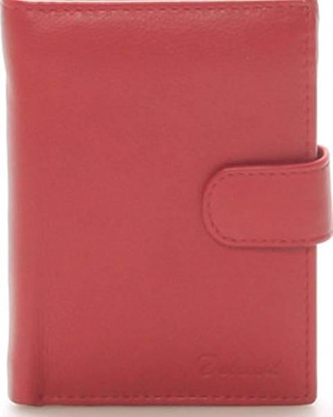 Červená peněženka Delami