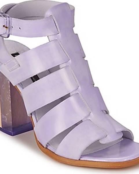 Fialové sandály Miista