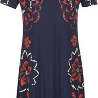 Desigual Krátké šaty ANNA Modrá