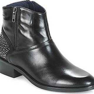 Dorking Kotníkové boty CELINE Černá