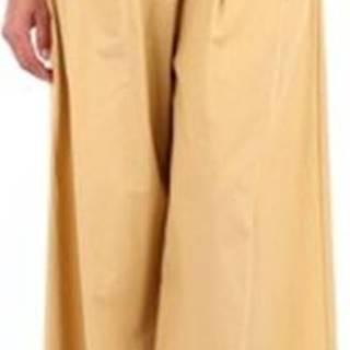 Maliparmi Ležérní kalhoty JH738610087 Žlutá