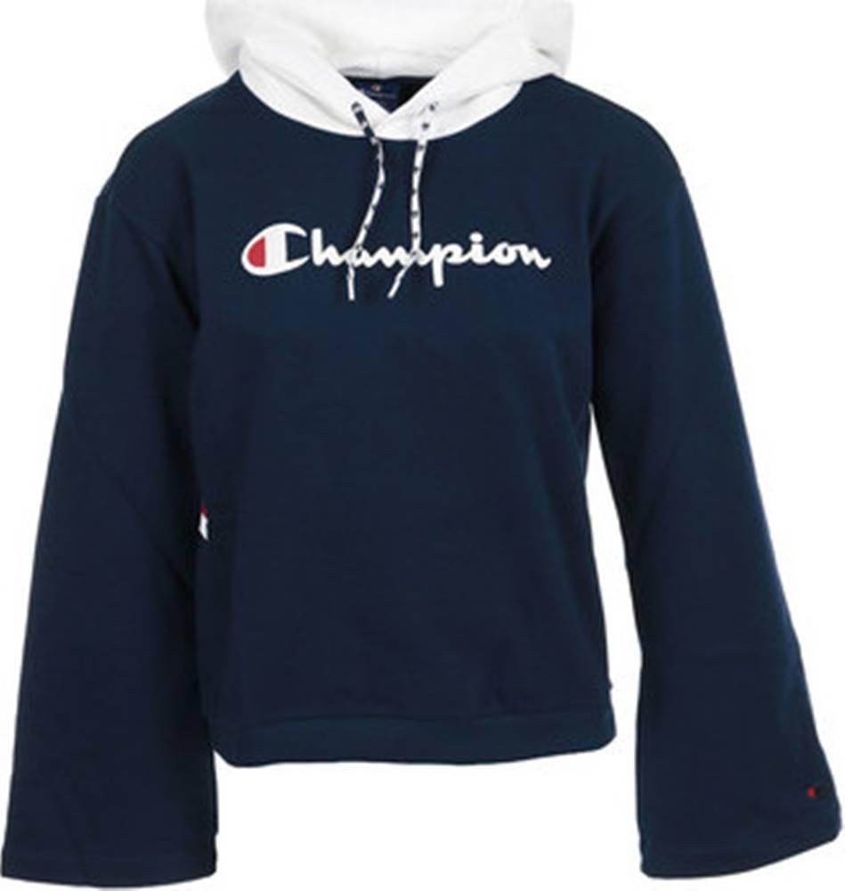 champion Champion Mikiny Hooded Sweatshirt Wn's Černá