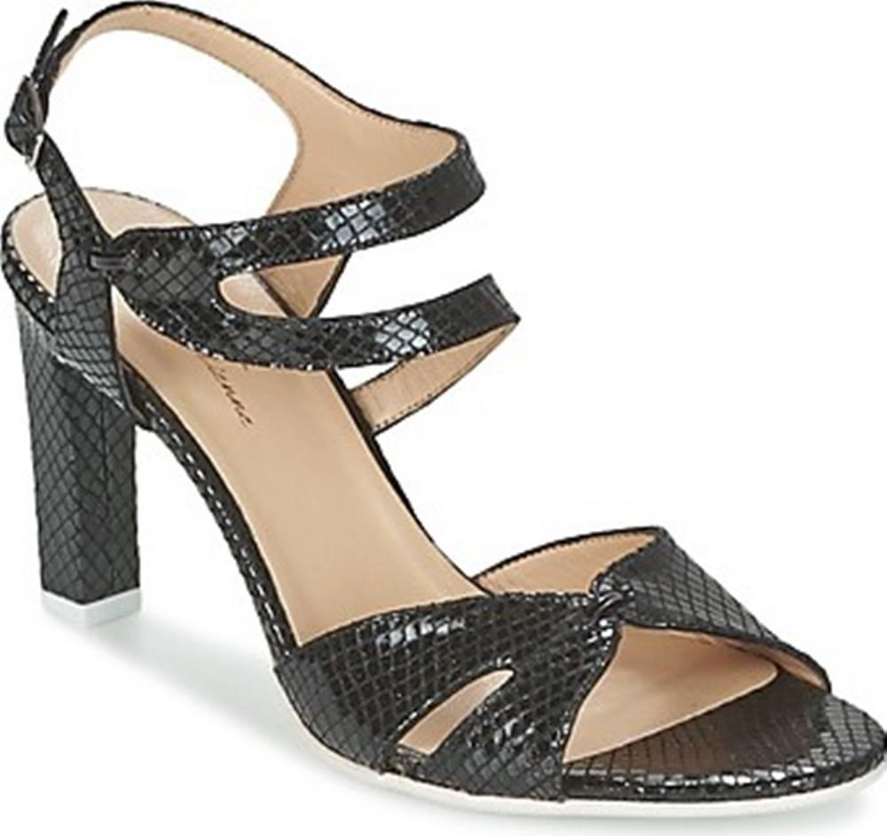 France Mode France Mode Sandály ZALIUM Černá