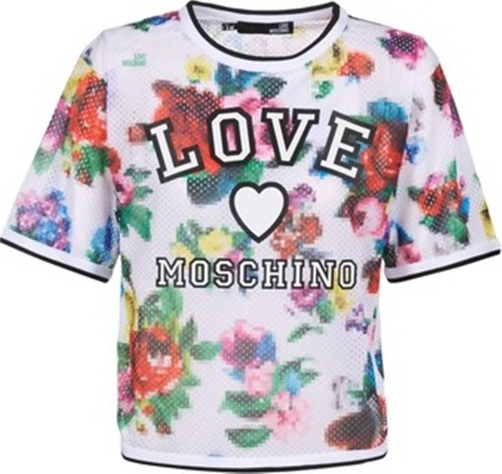 Love Moschino Love Moschino Halenky W4G2801 Bílá