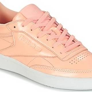Reebok Classic Tenisky CLUB C 85 PATENT Růžová