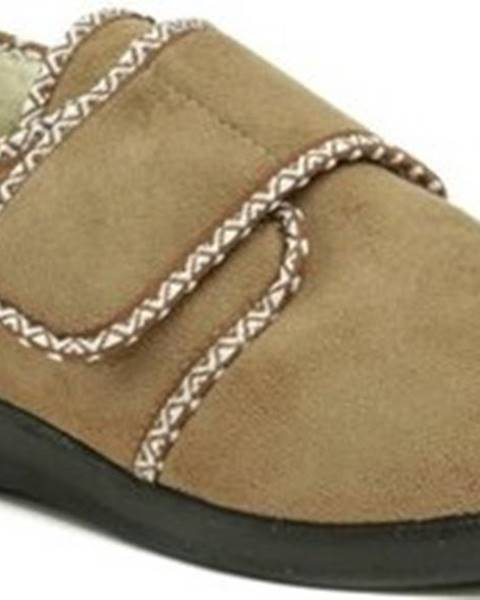 Béžové domácí boty ROGALLO