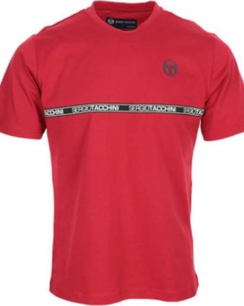 Červené tričko Sergio Tacchini