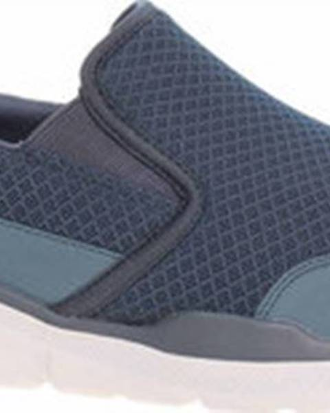Modré boty Skechers