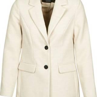 Vero Moda Kabáty VMCALA Bílá