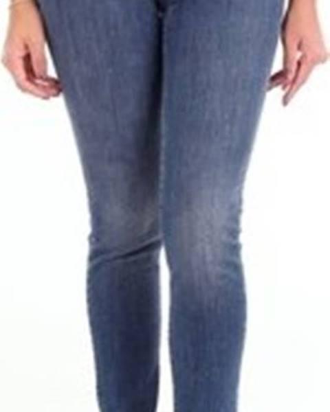 Modré kalhoty Twin Set