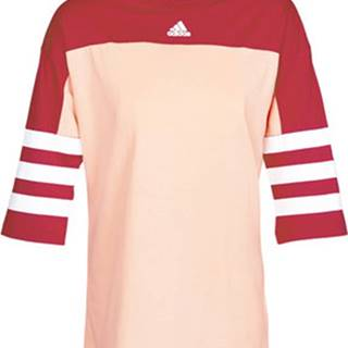 adidas Trička s krátkým rukávem W SID JERSEY Červená