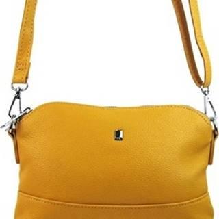 Bella Belly Kabelky s dlouhým popruhem Žlutá malá podlouhlá crossbody dámská kabelka 5413-BB Žlutá