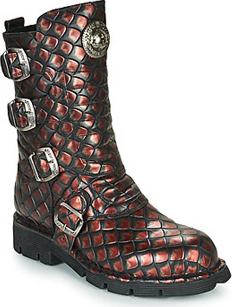 New Rock New Rock Kotníkové boty - Hnědá