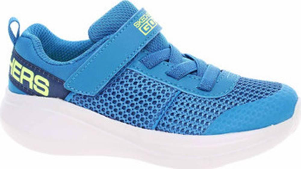 Skechers Skechers Tenisky Go Run Fast - Tharo blue-lime Modrá