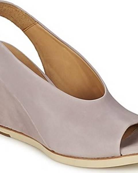 Fialové sandály Coclico