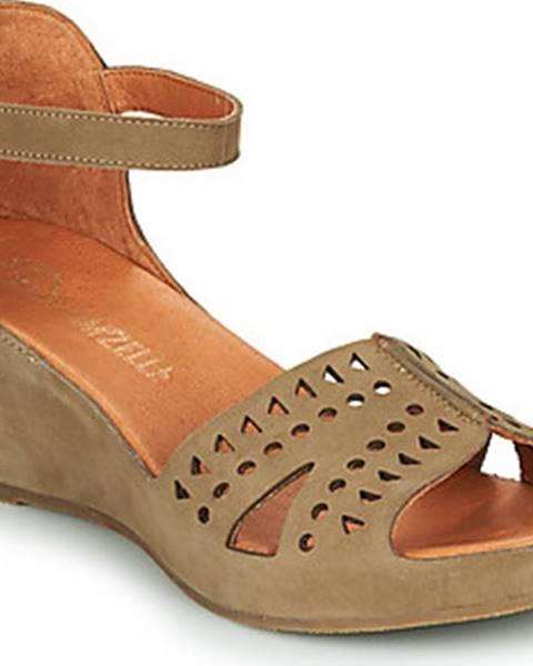 Khaki sandály Mam'Zelle