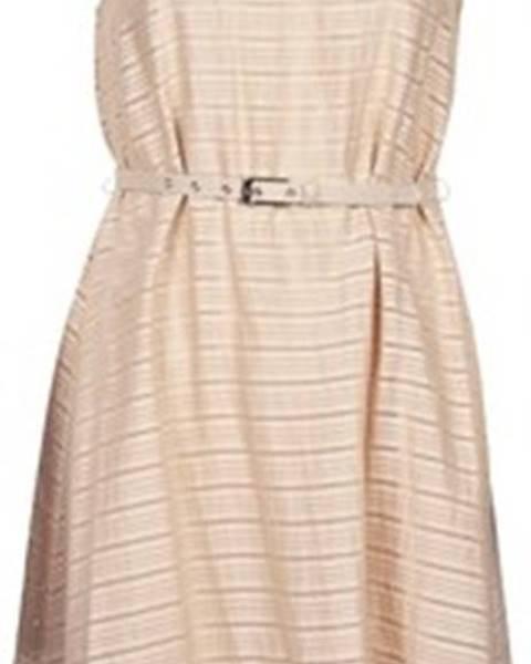 Béžové šaty Manoukian