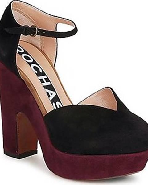 Černé boty Rochas